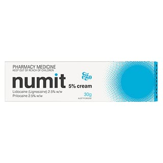 Image for Ego Numit 5percent Cream - 30g from Amcal
