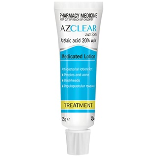 Image for Azclear Action Medicated Treatment Lotion - 25g from Amcal