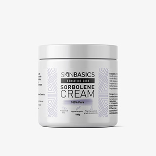 Image for Skin Basics 100% Pure Sorbolene Cream APF Jar - 100g from Amcal
