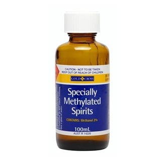 Image for Gold Cross Specially Methylated Spirits - 100ml from Amcal