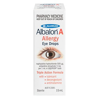Image for Albalon A Steri/Eye Drop - 15mL from Amcal
