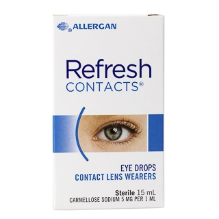 Image for Refresh Contacts Eye Drops - 15mL from Amcal