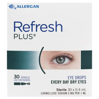 Image for Refresh Plus Lubricant Eye Drops - 0. 4mL x 30 Vials from Amcal
