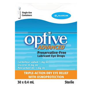 Image for Optive Advance - 30 X 0.4ml from Amcal