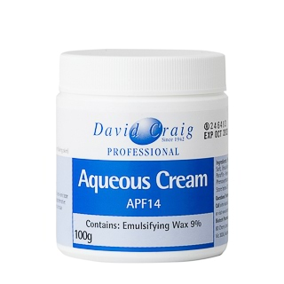 Image for David Craig Aqueous Cream APF14 - 100g from Amcal