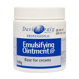 Image for David Craig Emulsifying Ointment Bp - 100g from Amcal