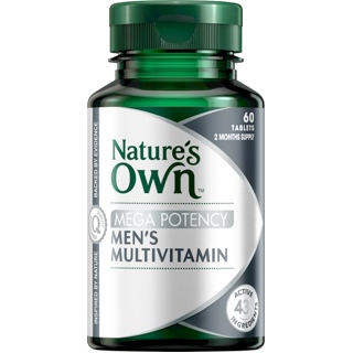 Image for Nature's Own Mega Potency Men's Multivitamin - 60 Tablets from Amcal
