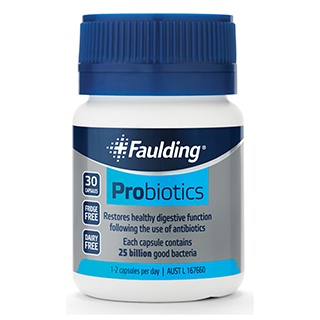 Image for Faulding Probiotics - 30 Capsules from Amcal