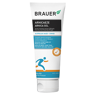 Image for Brauer Arnica Sport Bruising Relief Gel - 100g from Amcal