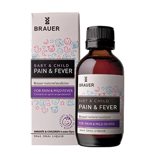 Image for Brauer Baby & Child Pain & Fever Relief - 50mL from Amcal