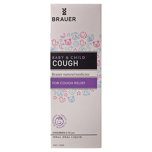 Image for Brauer Children's Cough Relief Oral Liquid - 100mL from Amcal
