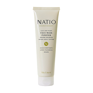 Image for Natio Clay and Plant Face Mask Purifier -100g from Amcal