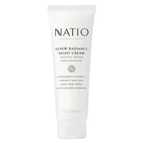 Image for Natio Renew Radiance Night Cream - 75g from Amcal