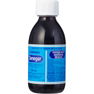 Image for Senegar Chesty Cough Mixture - 200ml from Amcal