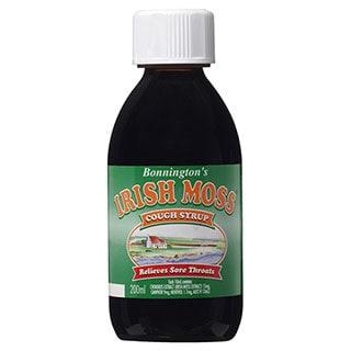 Bonnington's Irish Moss Cough Syrup - 200ml