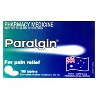 Image for Paralgin 500mg - 100 Tablets from Amcal