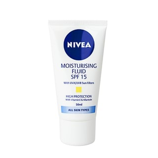 Image for Nivea Visage Moisturising Fluid with SPF 15 - 50mL from Amcal