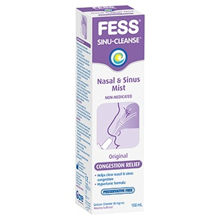 Image for FESS Sinu-Cleanse Congestion Relief Nasal & Sinus Mist Original - 100m from Amcal