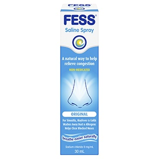 Image for Fess Nasal Saline Solution - 30mL from Amcal