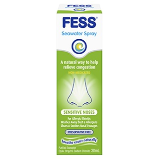 Image for Fess Sensitive Noses Nasal Spray - 30mL from Amcal