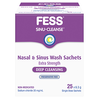 Image for Fess Sinu-Cleanse Refill - 25 Sachets from Amcal