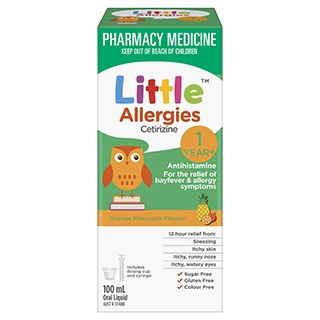 Image for Little Allergies - 100mL from Amcal