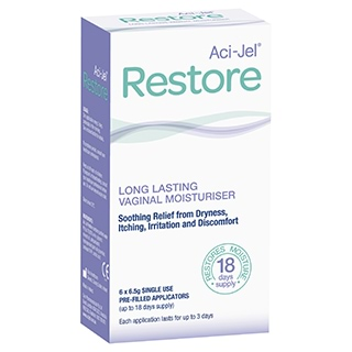 Image for Aci-Jel Restore 6.5g Applicators - 6 Pack from Amcal
