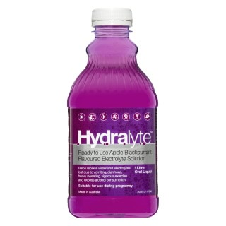 Image for Hydralyte Ready to use Apple Blackcurrant  Electrolyte Sol. - 1 Litre from Amcal