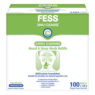 Image for FESS Sinu-Cleanse Wash Kit Refills 100 x 1.94g from Amcal