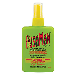 Image for Bushman Plus UV Insect Repellent Pump Spray - 100ml from Amcal