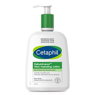 Image for Cetaphil Daily Advance Ultra Hydrating Lotion - 473mL from Amcal