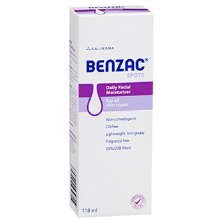 Image for Benzac Daily Facial Moisturiser SPF 15 from Amcal