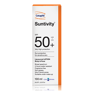 Image for Suntivity SPF 50+ Gel Lotion - 100ml from Amcal
