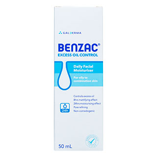 Image for Benzac Oil Control Moisturiser - 50mL from Amcal