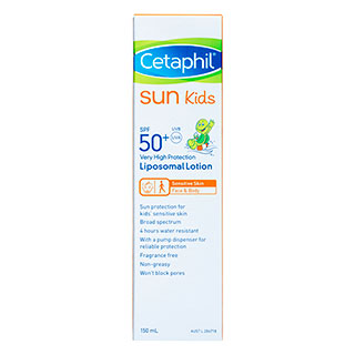 Image for Cetaphil Sun Kids Lotion SPF50 Plus - 150mL from Amcal
