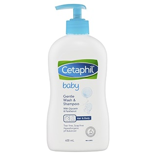 Image for Cetaphil Baby Gentle Wash & Shampoo - 400mL from Amcal