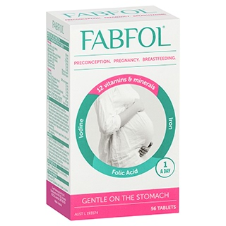 Image for Fabfol Plus - 56 Tablets from Amcal