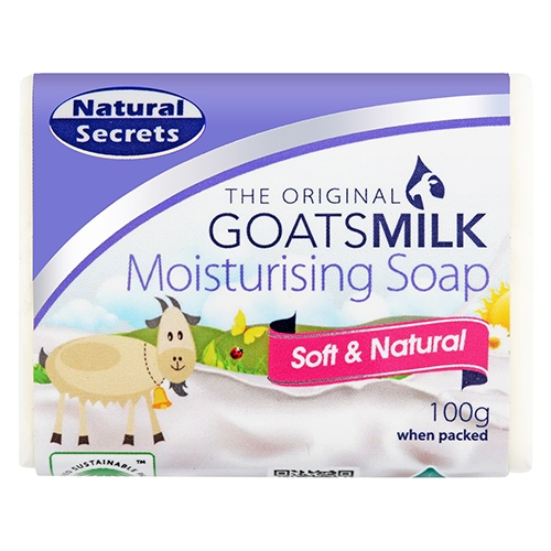 Image for Natural Secrets Goat's Milk Soap - 100g from Amcal