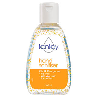 Image for Kenkay No Rinse Hand Sanitiser - 100mL from Amcal
