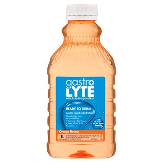 Image for Gastrolyte Orange Ready To Drink - 1L from Amcal