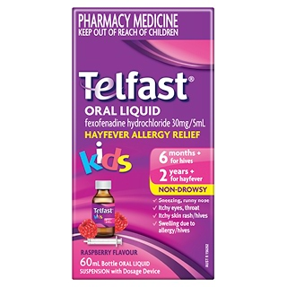 Image for Telfast Oral Liquid Kids - 60mL from Amcal