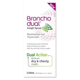 Image for Bronchodual Cough Syrup - 120mL from Amcal