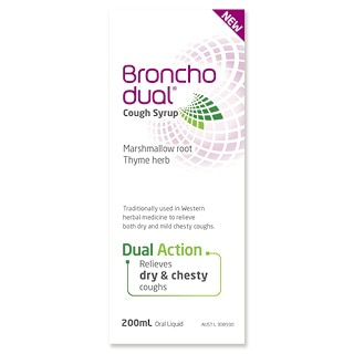 Image for Bronchodual Cough Syrup - 200mL from Amcal