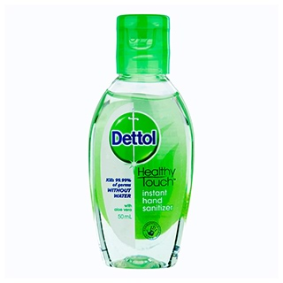 Image for Dettol Healthy Touch Instant Hand Sanitiser Refresh - 50mL from Amcal