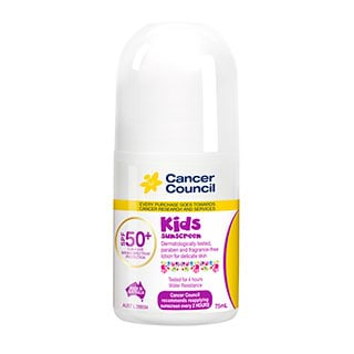 Image for Cancer Council Kids SPF50 Roll On - 75mL from Amcal