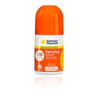 Image for Cancer Council Sunscreen Everyday Roll-On SPF30 - 75mL from Amcal