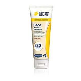Image for Cancer Council Face Day Wear Light Tint SPF30 - 75mL from Amcal