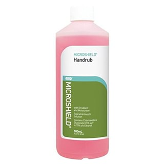 Image for Microshield Hand Rub with Emollient and Moisturiser - 500mL from Amcal