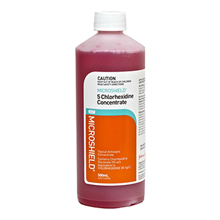 Image for Microshield 5 Antiseptic - 500ml from Amcal
