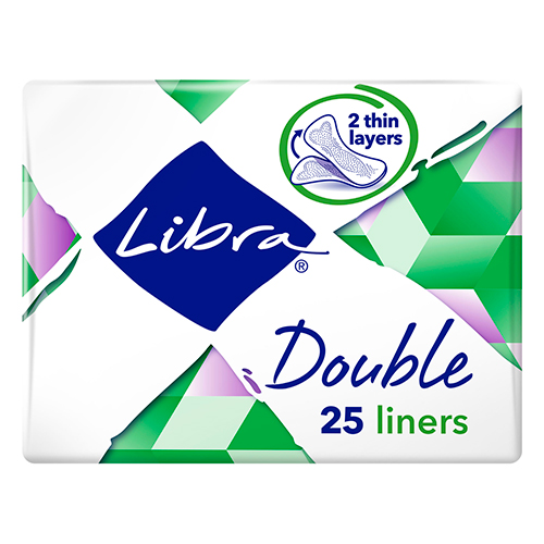 Image for Libra Double Liner - 25 Pack from Amcal